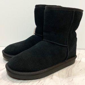 New! Koolaburra by UGG Koola Black Short Kids Boot